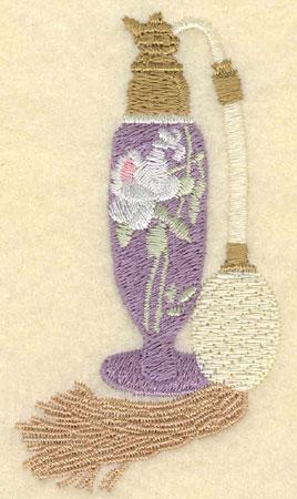 Embroidery Design: Perfrume Atomizer1.95w X 3.53h