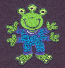 Embroidery Design: Alien Small2.67w X 3.00h
