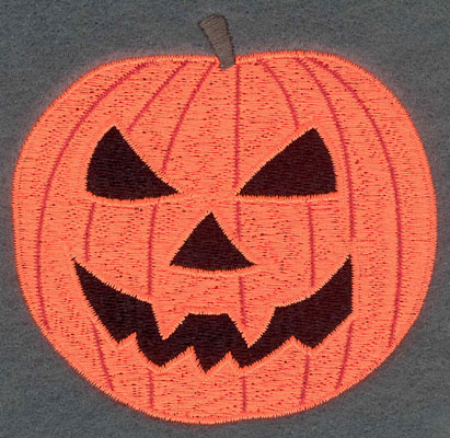 Embroidery Design: Pumpkin Small3.53w X 3.38h