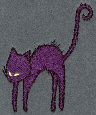 Embroidery Design: Cat Small Single3.02w X 3.86h