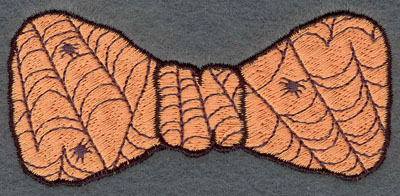 Embroidery Design: Bow Tie Small with Spider Webs3.81w X 1.80h