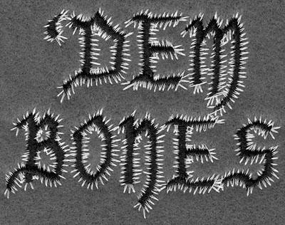 Embroidery Design: Dem Bones3.06w X 2.37h
