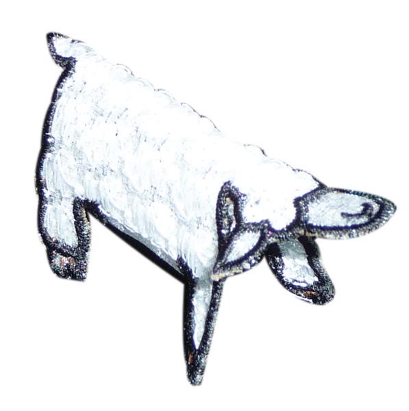 Embroidery Design: Lamb 2.79w X 2.40h