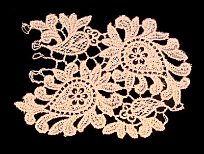 "Embroidery Design: Vintage Lace Edition 6 Vol.3 AINL01A  3.81""w X 2.85""h"