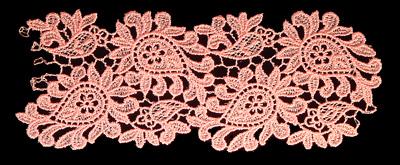 "Embroidery Design: Vintage Lace Edition 6 Vol.3 AINL01B  7.03""w X 2.85""h"