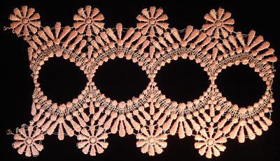 "Embroidery Design: Vintage Lace Edition 6 Vol.3 AINL07B  9.44""w X 5.88""h"