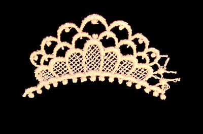 "Embroidery Design: Vintage Lace Edition 6 Vol.6 AINL08A  3.67""w X 2.34""h"