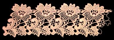 "Embroidery Design: Vintage Lace Edition 5 Vol.1 AINL09B  9.85""w X 3.25""h"