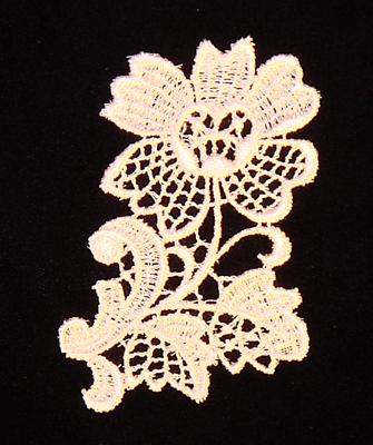 """Embroidery Design: Vintage Lace Edition 5 Vol.1 AINL09C  3.25""""w X 2.75""""h"""