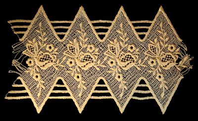"Embroidery Design: Vintage Lace Edition 6 Vol.5 AINL14B  9.93""w X 5.74""h"