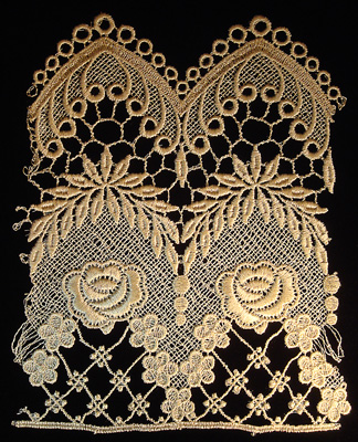 "Embroidery Design: Vintage Lace Edition 6 Vol.2 AINL15B  7.45""w X 8.66""h"