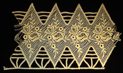 "Embroidery Design: Vintage Lace Edition 5 Vol.6 AINL16B  10.45""w X 5.89""h"