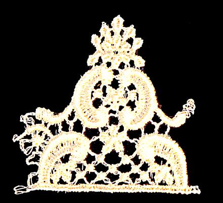 "Embroidery Design: Vintage Lace Edition 5 Vol.4 AINL23A  2.66""w X 2.41""h"