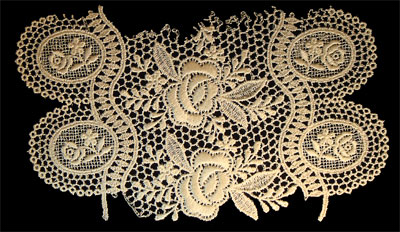 "Embroidery Design: Vintage Lace Edition 6 Vol.4 AINL24B  8.64""w X 5.67""h"