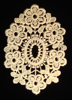 "Embroidery Design: Vintage Lace Edition 6 Vol.2 AINL25A  2.84""w X 3.92""h"