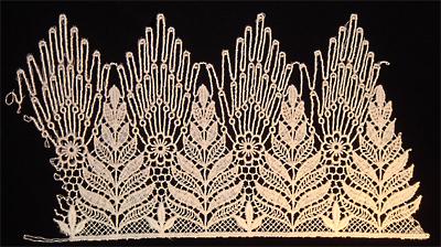 "Embroidery Design: Vintage Lace Edition 5 Vol.3 AINL27B  9.80""w X 5.42""h"
