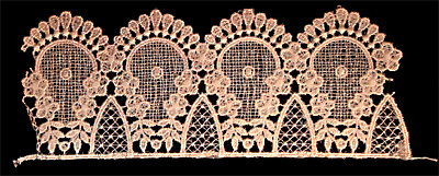 "Embroidery Design: Vintage Lace Edition 6 Vol.6 AINL28B  9.85""w X 3.55""h"