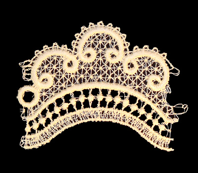 "Embroidery Design: Vintage Lace Edition 6 Vol.3 AINL29A  3.87""w X 3.06""h"