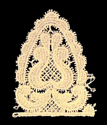 "Embroidery Design: Vintage Lace Edition 6 Vol.1 AINL31A  2.46""w X 3.07""h"