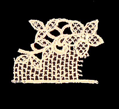 "Embroidery Design: Vintage Lace Edition 6 Vol.1 AINL33A  2.95""w X 2.07""h"