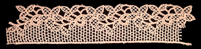 "Embroidery Design: Vintage Lace Edition 6 Vol.1 AINL33B  9.43""w X 2.07""h"