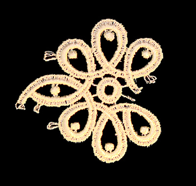 "Embroidery Design: Vintage Lace Edition 6 Vol.4 AINL34A  2.90""w X 2.92""h"