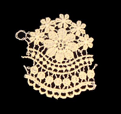 "Embroidery Design: Vintage Lace Edition 6 Vol.4 AINL39A  2.77""w X 2.78""h"
