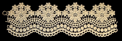 "Embroidery Design: Vintage Lace Edition 6 Vol.4 AINL39B  9.18""w X 2.78""h"
