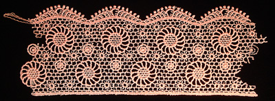 "Embroidery Design: Vintage Lace Edition 5 Vol.6 AINL40B  10.36""w X 3.65""h"