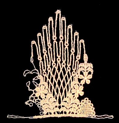 "Embroidery Design: Vintage Lace Edition 5 Vol.6 AINL42A  4.39""w X 4.36""h"