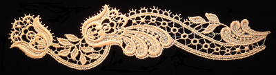 "Embroidery Design: Vintage Lace Edition 5 Vol.5 AINL46A  10.46""w X 2.96""h"