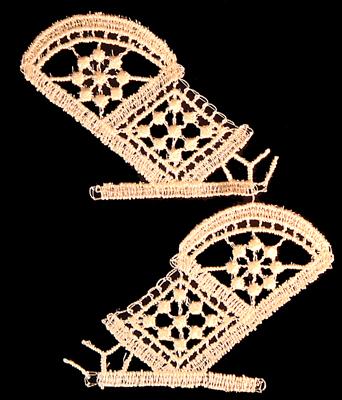 "Embroidery Design: Vintage Lace Edition 5 Vol.3 AINL50A  4.48""w X 5.40""h"
