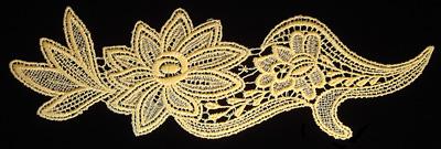 "Embroidery Design: Vintage Lace Edition 5 Vol.6 AINL53A  10.38""w X 3.70""h"