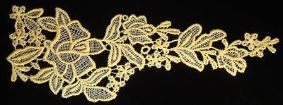 "Embroidery Design: Vintage Lace Edition 5 Vol.5 AINL55A  11.52""w X 4.22""h"
