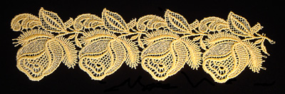 "Embroidery Design: Vintage Lace Edition 5 Vol.6 AINL56B  9.16""w X 2.57""h"