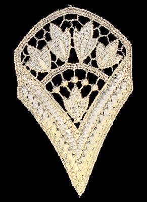 "Embroidery Design: Vintage Lace Edition 6 Vol.1 AINL59A  3.17""w X 5.01""h"