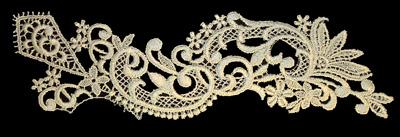 "Embroidery Design: Vintage Lace Edition 6 Vol.3 AINL60A  11.76""w X 3.55""h"
