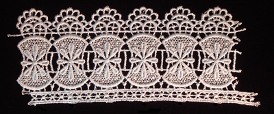 "Embroidery Design: Vintage Lace Edition 6 Vol.3 AINL64B  7.50""w X 2.89""h"