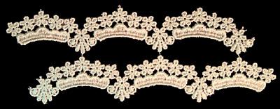 "Embroidery Design: Vintage Lace Edition 6 Vol.5 AINL65B  7.45""w X 6.92""h"