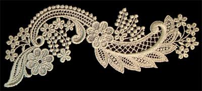 "Embroidery Design: Vintage Lace Edition 6 Vol.5 AINL68A  8.30""w X 3.92""h"