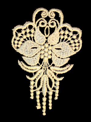 "Embroidery Design: Vintage Lace Edition 6 Vol.5 AINL69A  2.95""w X 4.44""h"