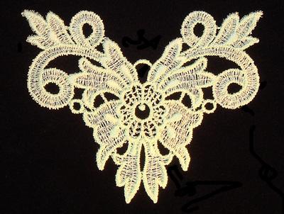 "Embroidery Design: Vintage Lace Edition 5 Vol.4 AINL70A  4.67""w X 3.83""h"
