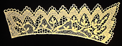 "Embroidery Design: Vintage Lace Edition 5 Vol.3 AINL71A  12.19""w X 4.55""h"