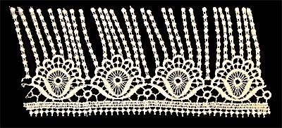 "Embroidery Design: Vintage Lace Edition 5 Vol.2 AINL72B  9.08""w X 4.04""h"