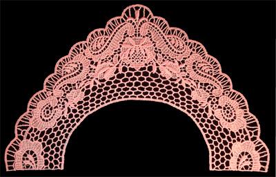 "Embroidery Design: Vintage Lace Edition 6 Vol.4 AINL77A  11.35""w X 7.08""h"