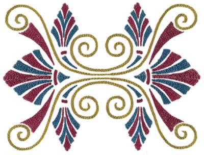 "Embroidery Design: Roman Tassle 29.64"" x 7.09"""