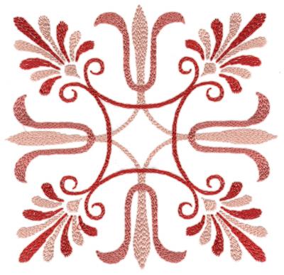 "Embroidery Design: Elegant Deco 2 (large)7.87"" x 7.76"""