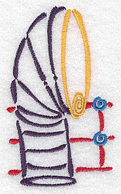 Embroidery Design: Ship's smokestack small 2.08w X 3.48h
