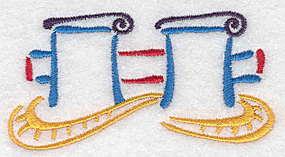 Embroidery Design: Ship's mooring small 3.55w X 1.90h