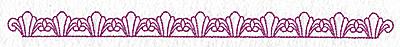 Embroidery Design: Fleur-de-lys design 114 large 10.60w X 0.70h